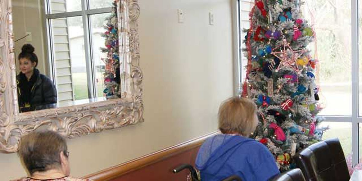 amerisafe donates gifts fully decorated christmas tree