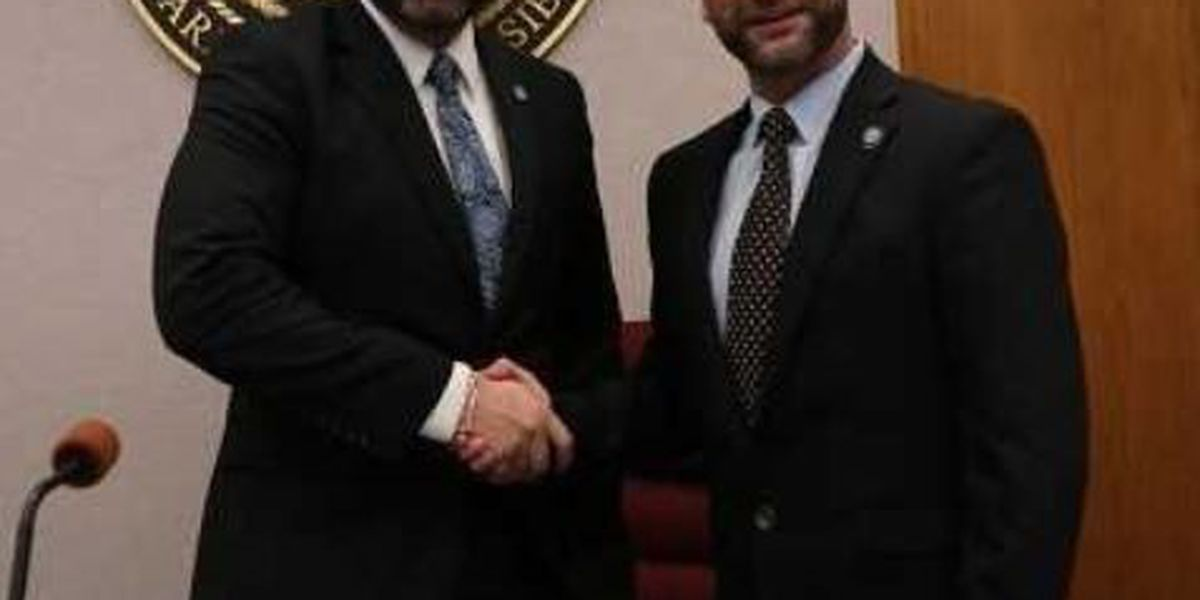 New President and Vice President elected for Calcasieu Parish Police Jury