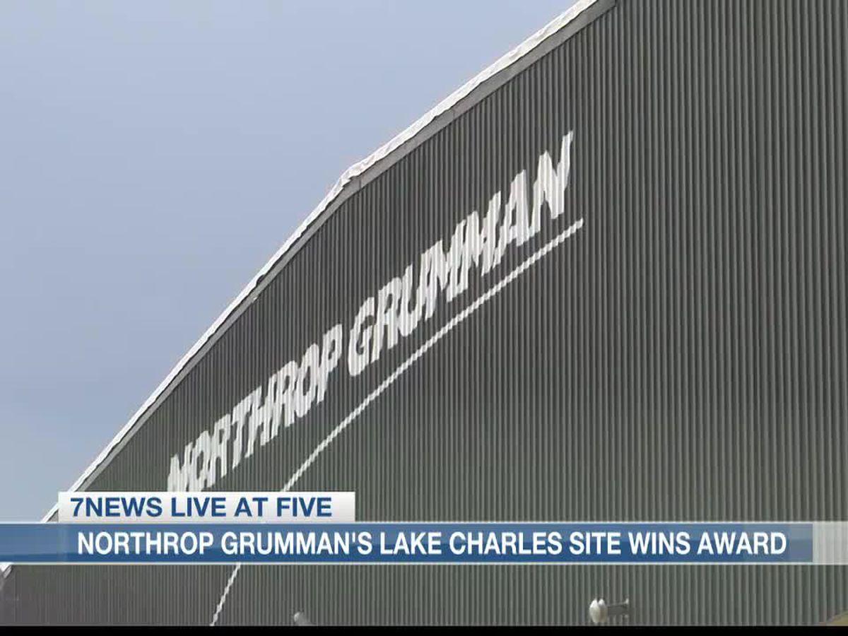 Northrop Grumman en Lake Charles gana un premio luego de los huracanes Laura y Delta