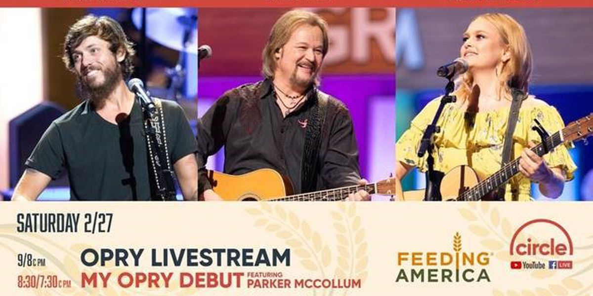 Saturday night Opry broadcast to raise money for people suffering from storms, pandemic