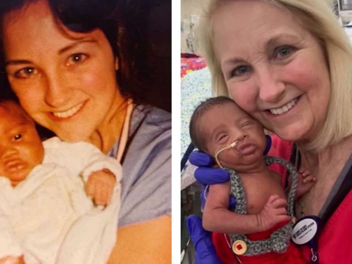 'It was just fate': Couple discovers same NICU nurse cared for father, son 34 years apart