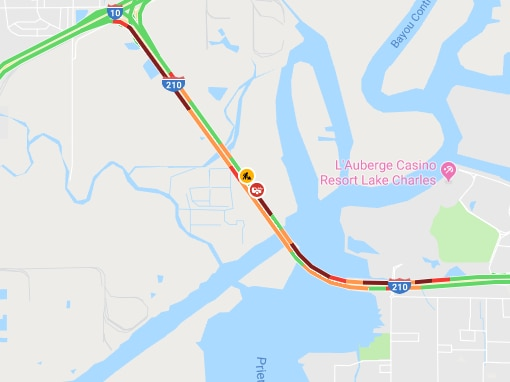 I-210 EB closed due to stalled vehicle