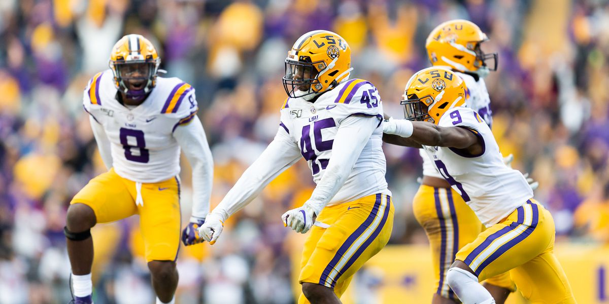 LSU opens at No. 2 in the College Football Playoff rankings