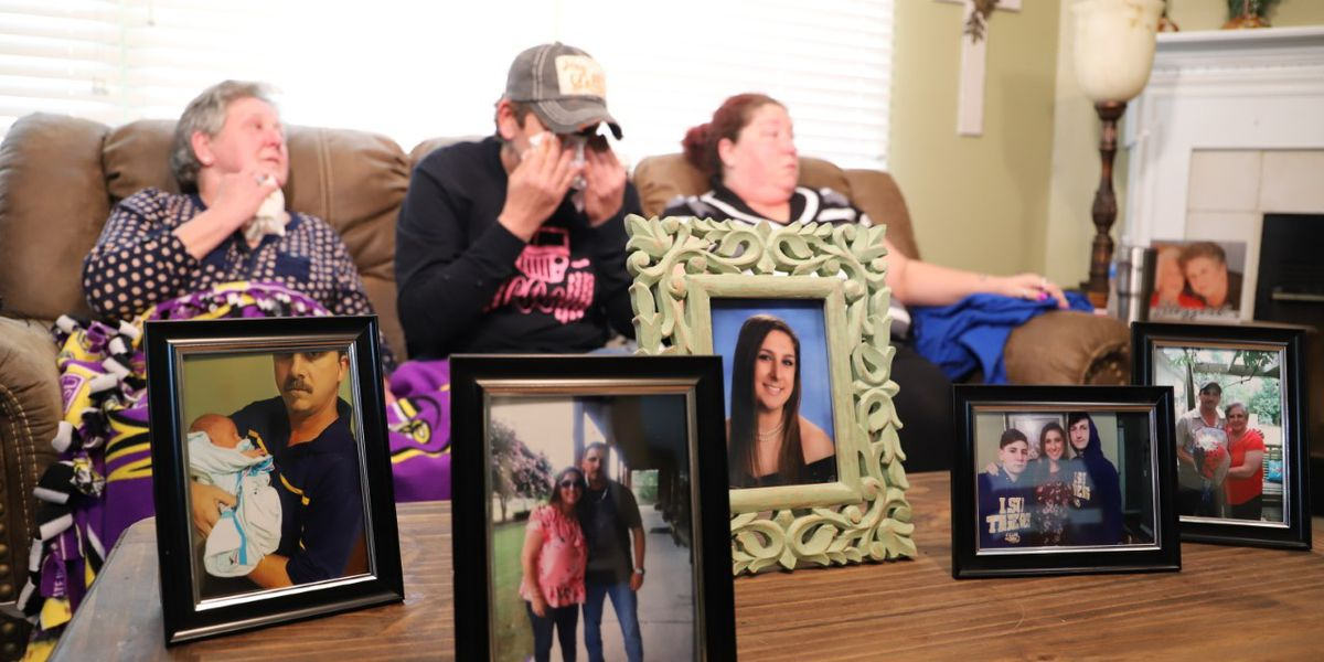 'It's not so happy anymore': Family of shooting spree victims picking up the pieces