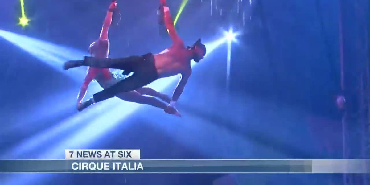 Cirque Italia arrives in Lake Charles