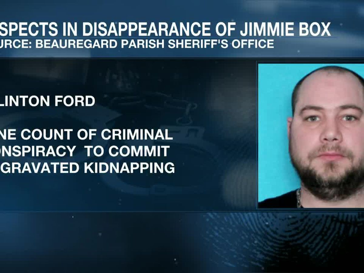 UPDATE: Beauregard officials release names of those arrested in the disappearance of Jimmie Box