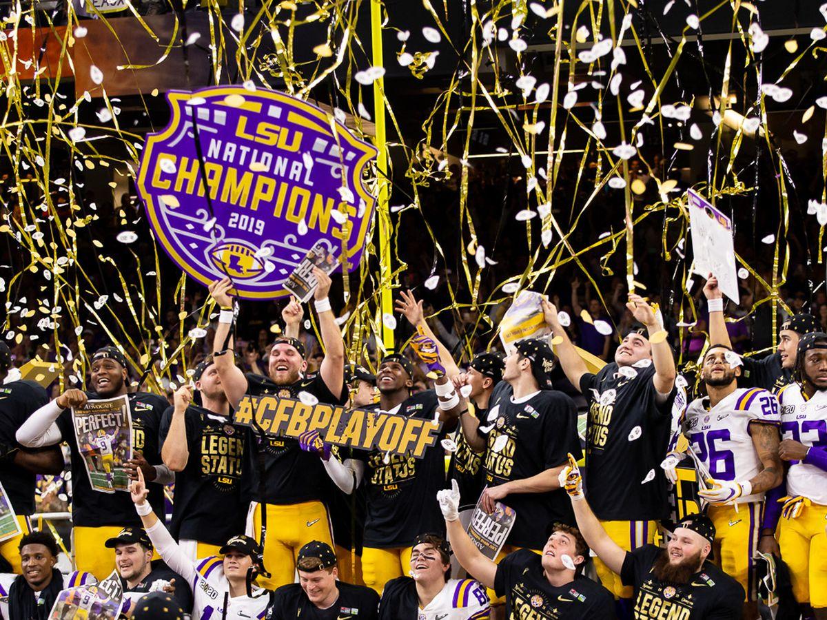 No. 1 LSU defeats No. 3 Clemson in CFP National Championship