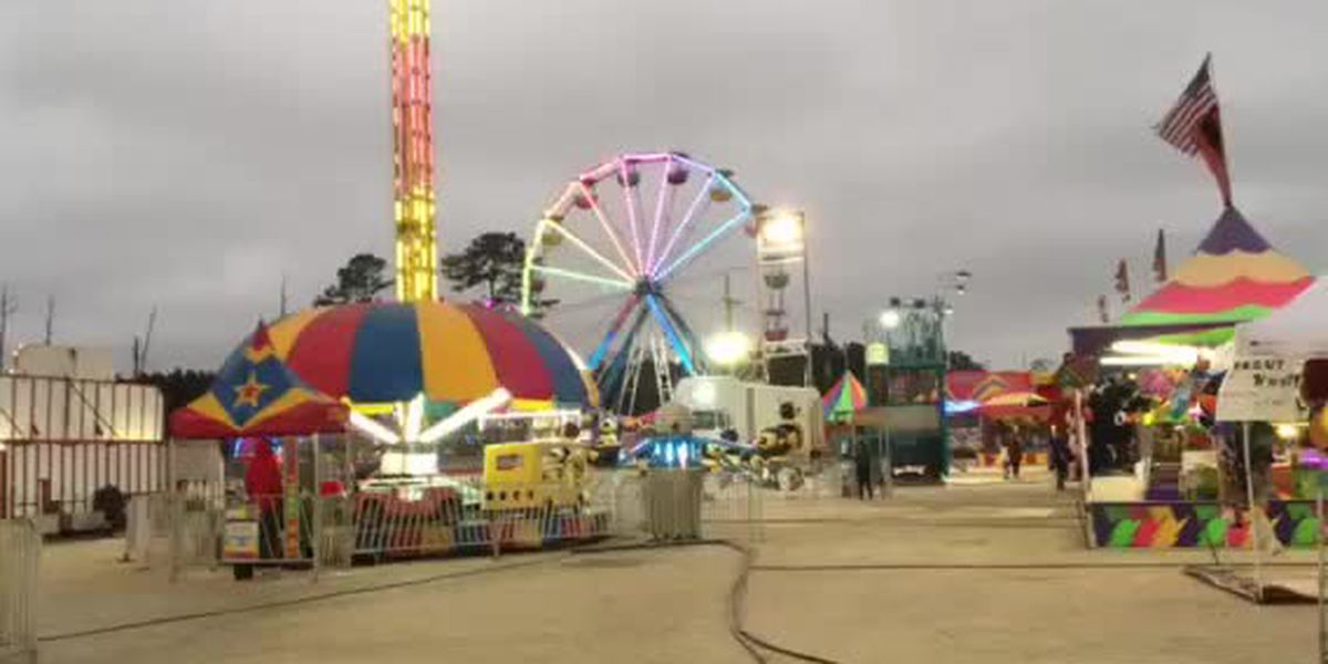 12 rides at the Cal-Cam Fair did not pass initial inspection
