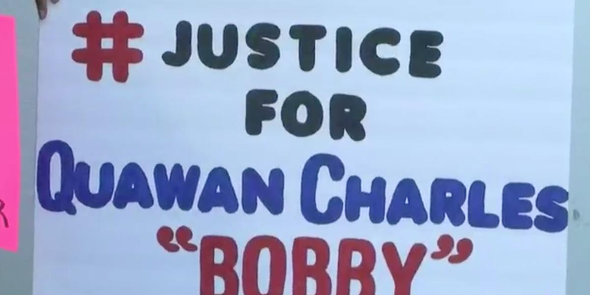 ACLU, demonstrators speak out over death of Quawan Charles
