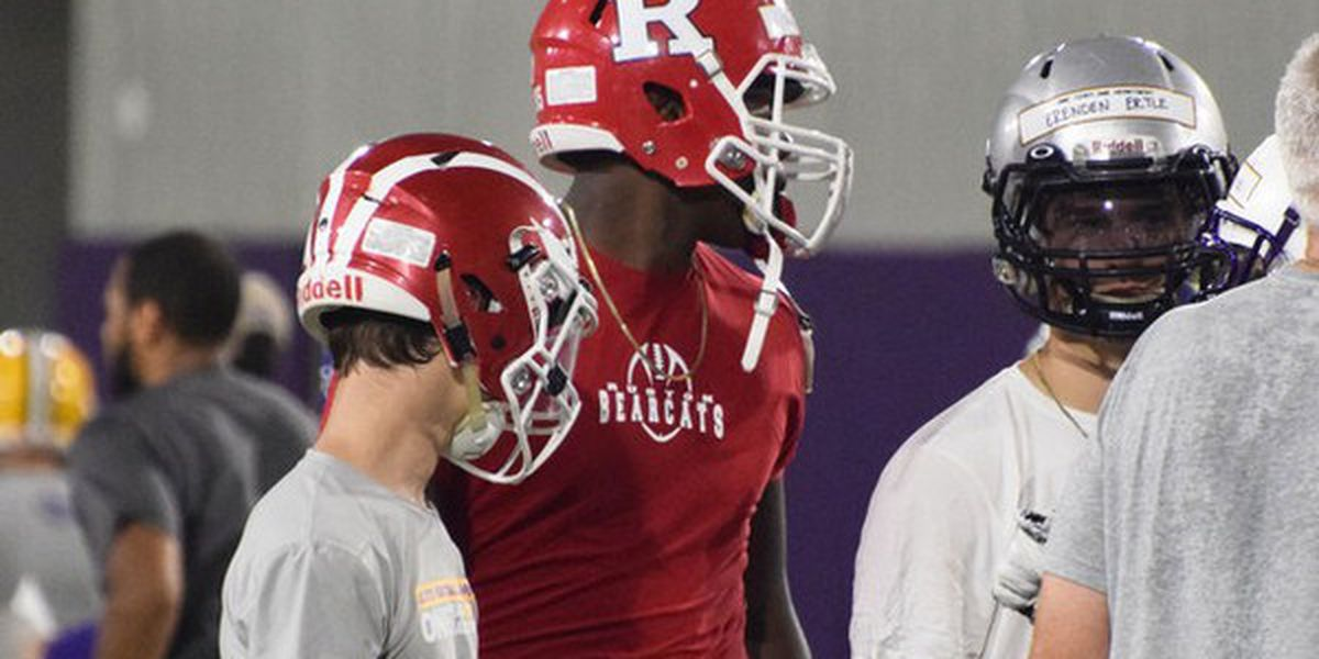 Ruston offensive tackle Ray Parker signs with LSU