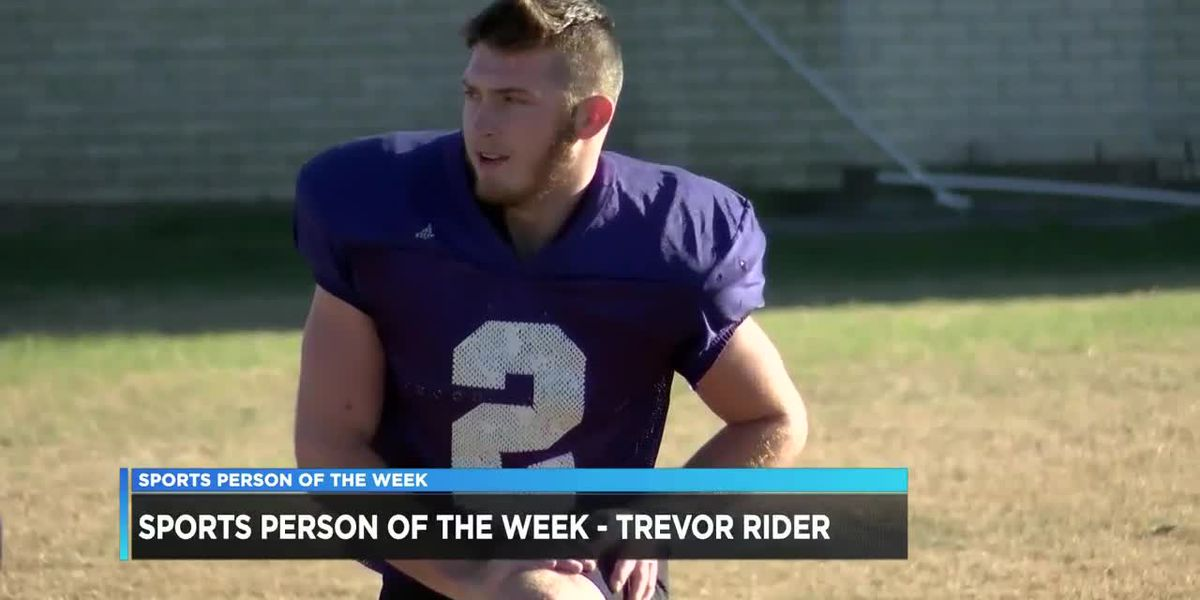Sports Person of the Week - Trevor Rider