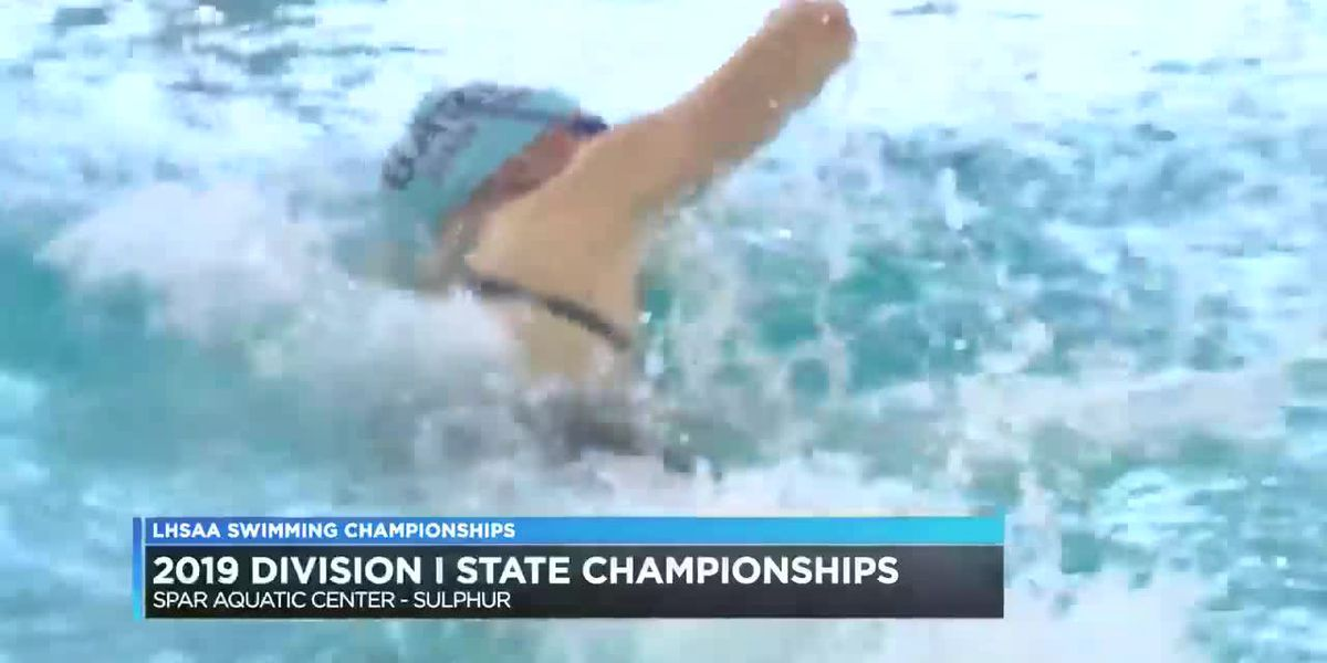 Barbe's Natalie Stump wins 200-yard freestyle for third straight year