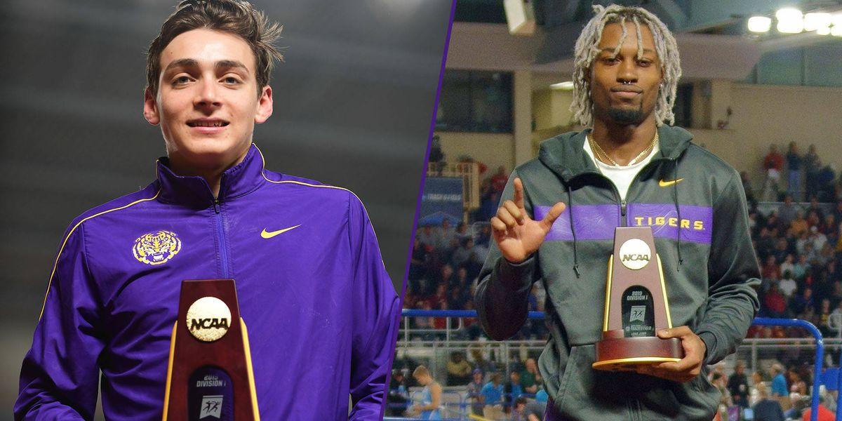 LSU's Duplantis, Grey win 2019 NCAA indoor national championships