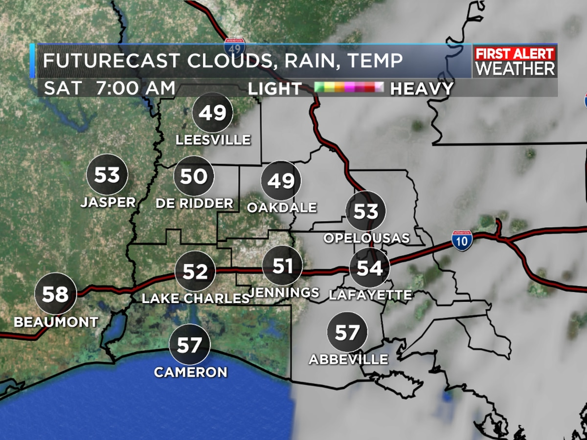 FIRST ALERT FORECAST: A warm day to end the week, with cooler temperatures over the weekend