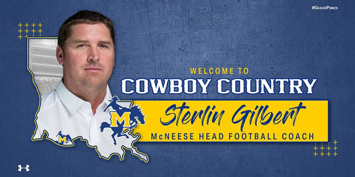 McNeese introduces new football coach Sterlin Gilbert