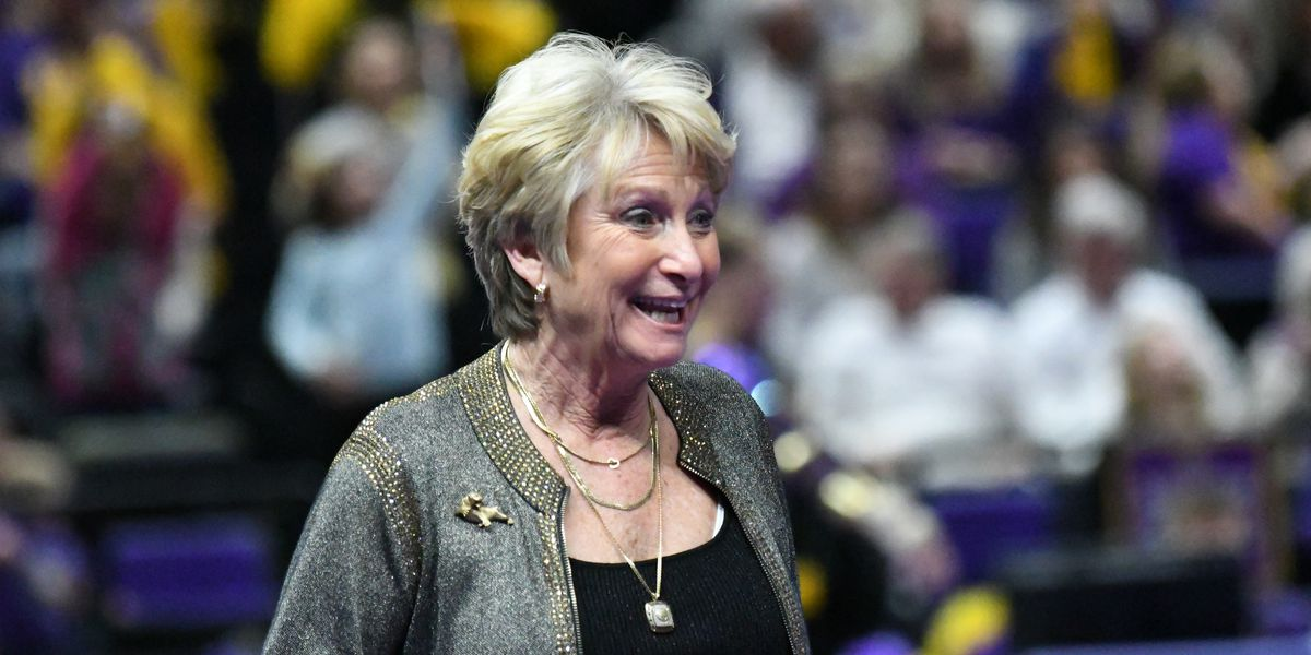 WATCH LIVE: LSU legendary gymnastics coach D-D Breaux, known as 'Dean of Coaches,' announces retirement after 43 years
