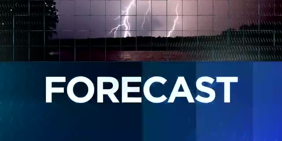 KPLC 7News Nightcast - Nov. 14, 2018 - Weather