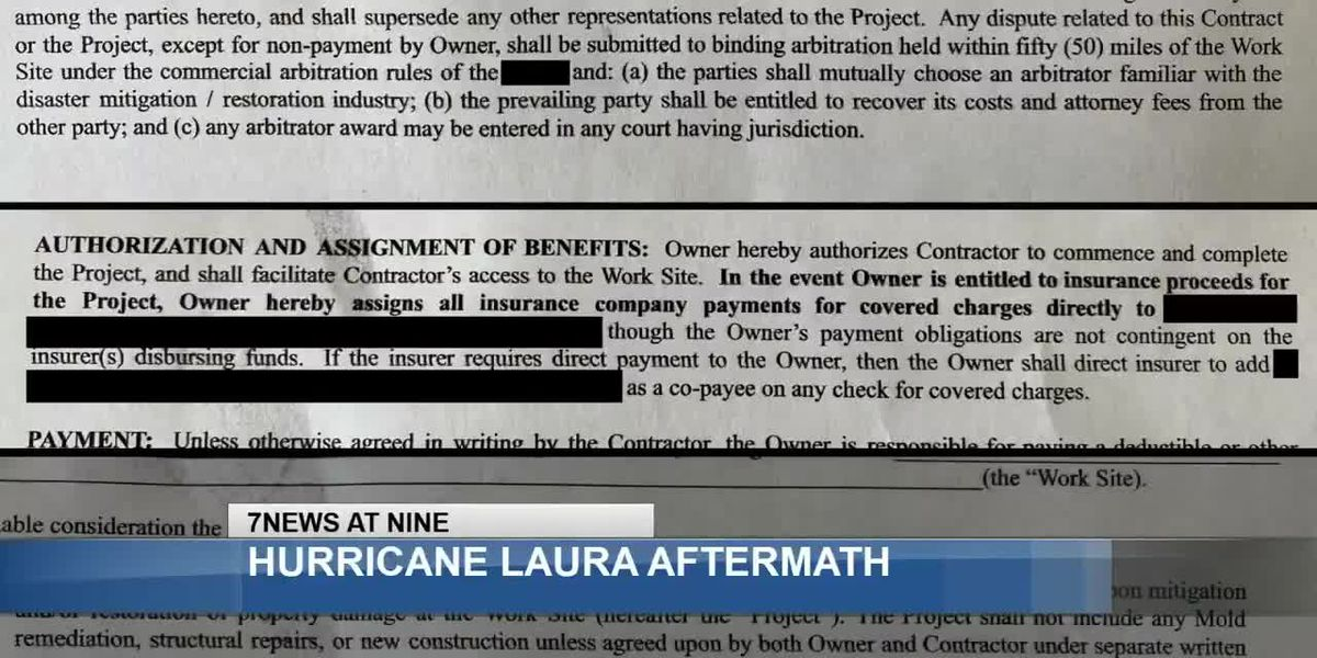 Being aware of scammers posing as contractors