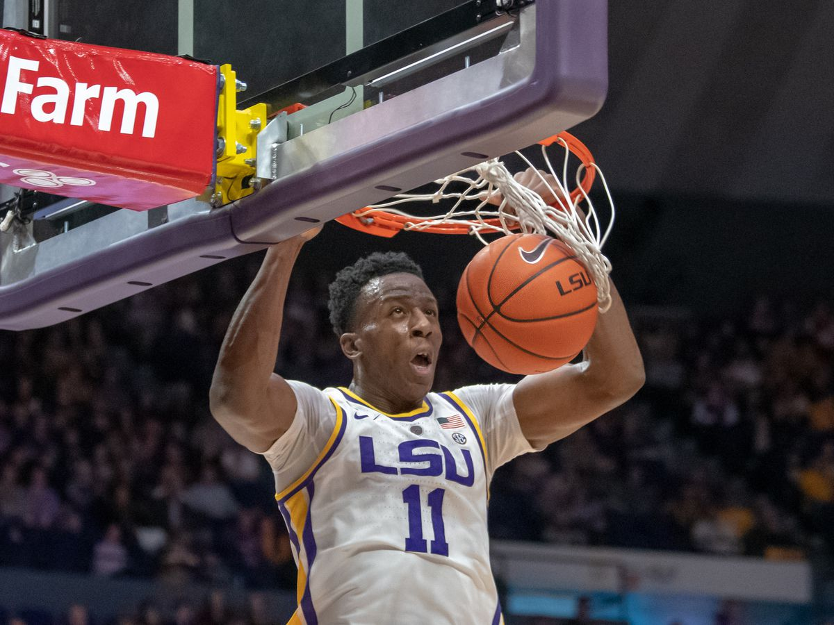 LSU players relieved to get first NCAA Tournament win under their belts