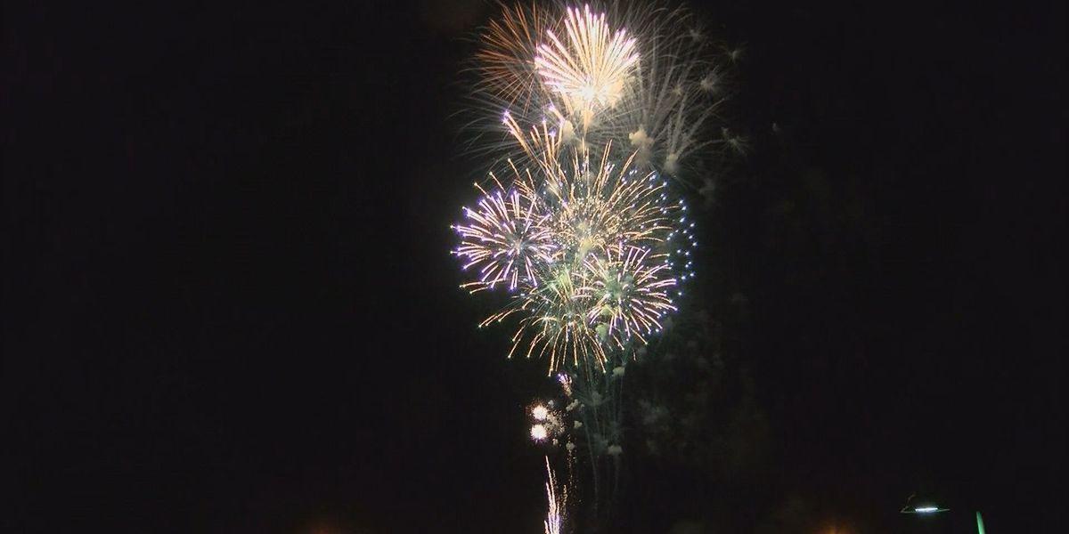 Fireworks safety for NYE