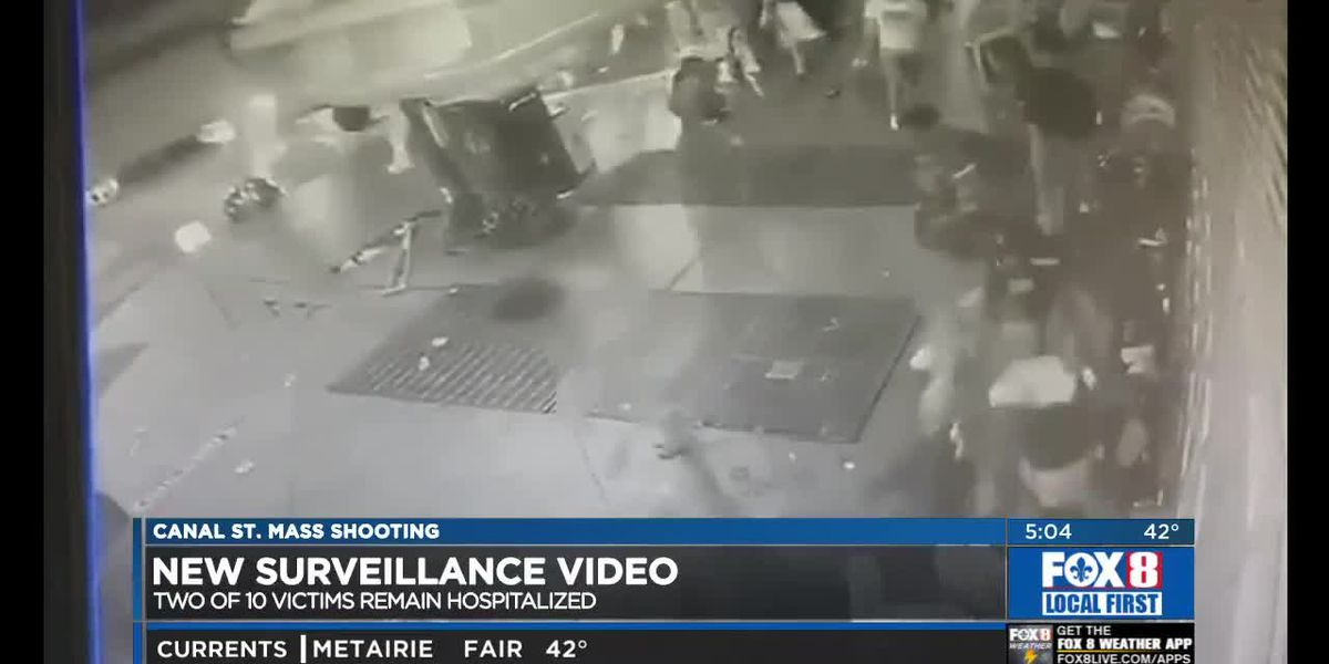 Canal St. Shooting: New Video