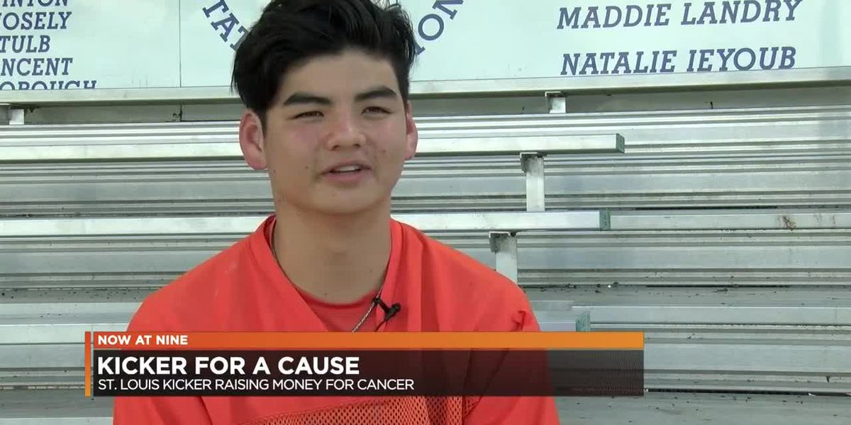 St. Louis Catholic kicker dedicates season to childhood cancer research