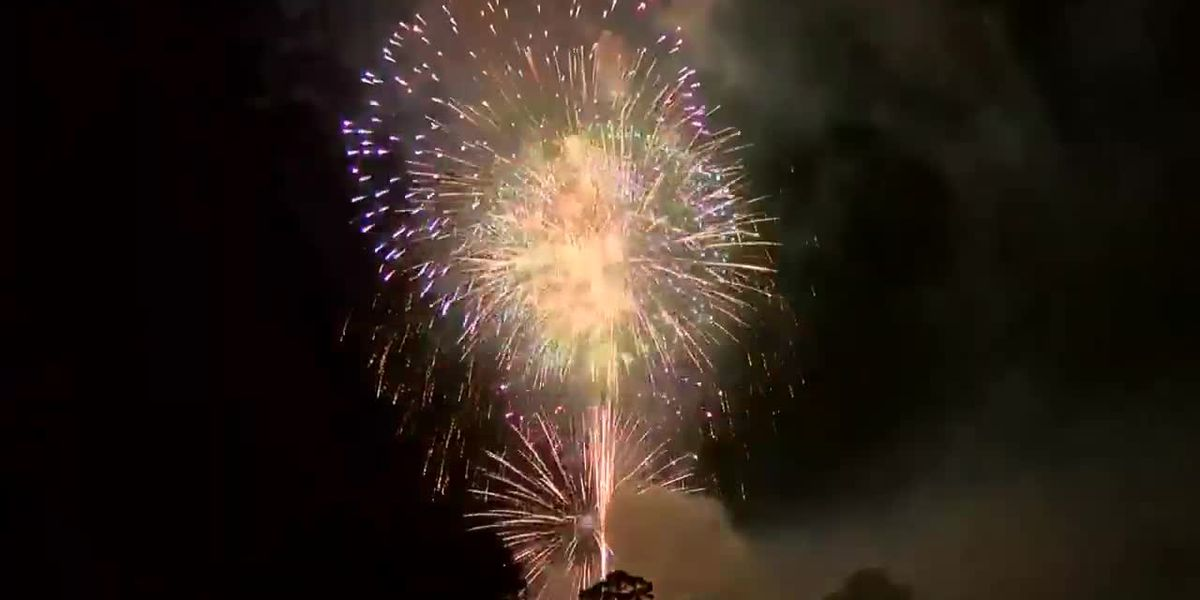 RED, WHITE, BLUE & YOU: Fireworks in Lake Charles