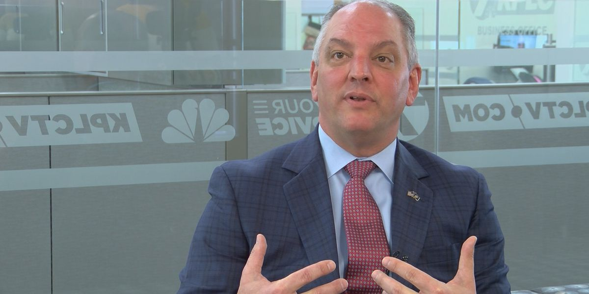 Governor Edwards discusses his top priorities for 2019