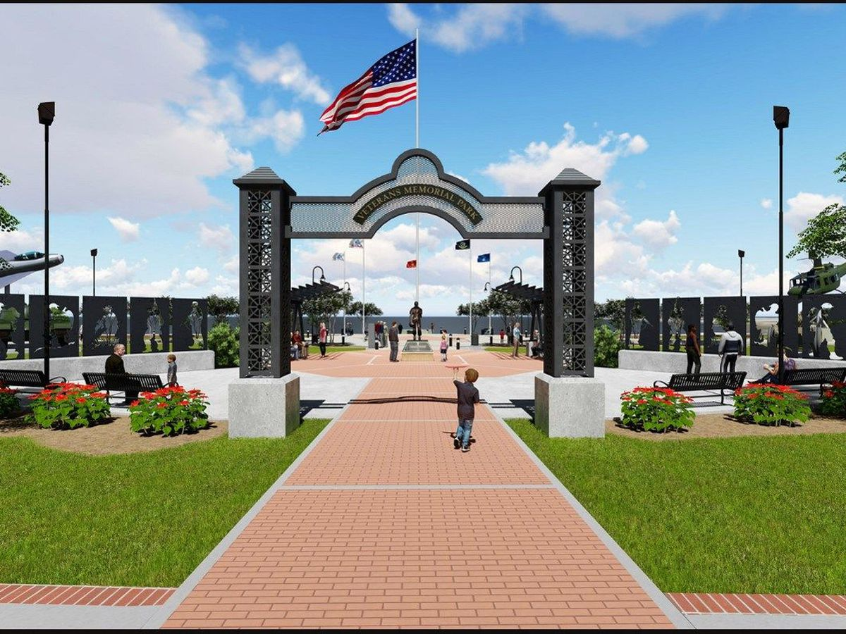 City to cut ribbon on remodeled Veterans Memorial Park