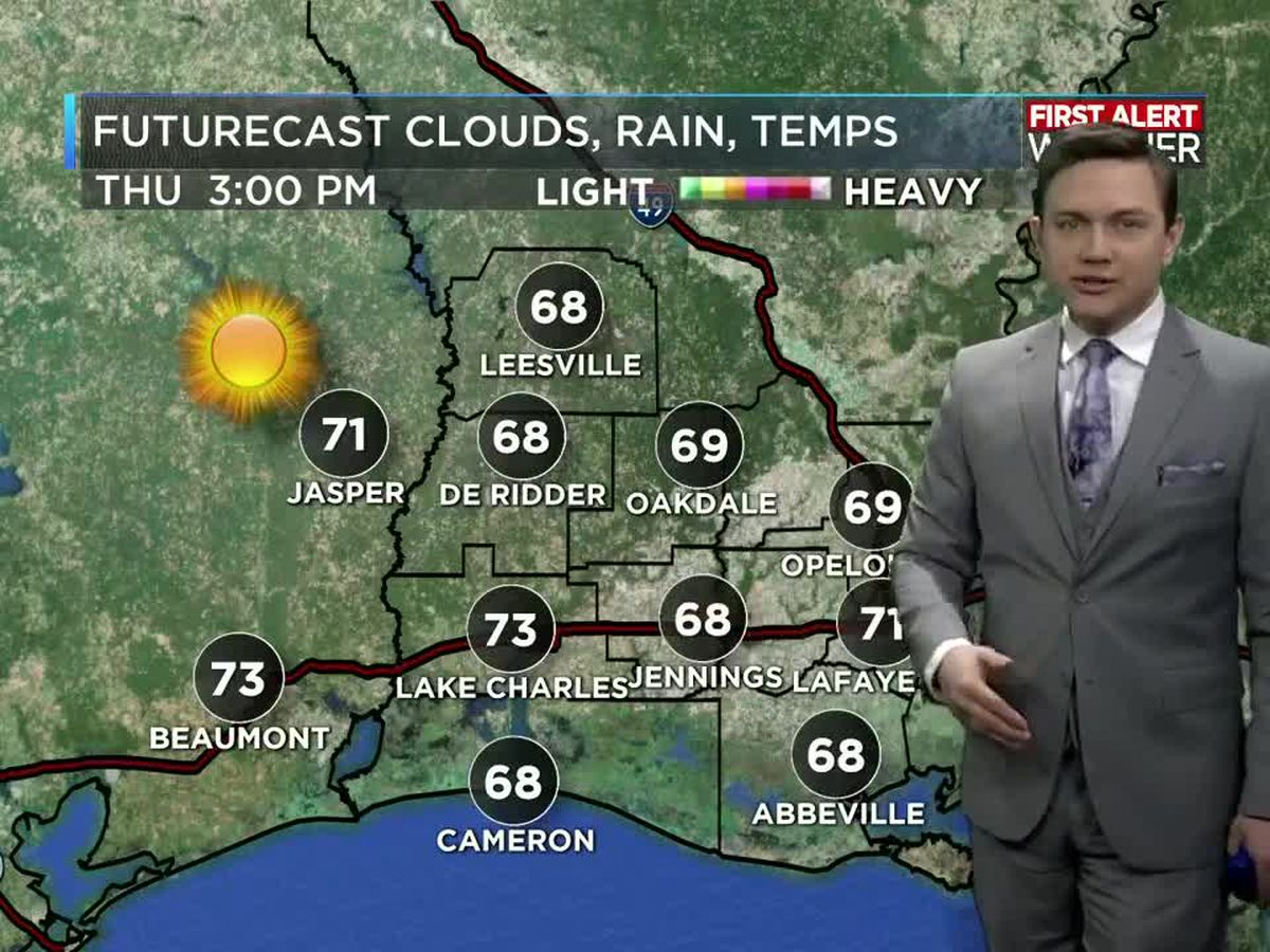 First Alert Forecast: More sunshine and beautiful weather on its way