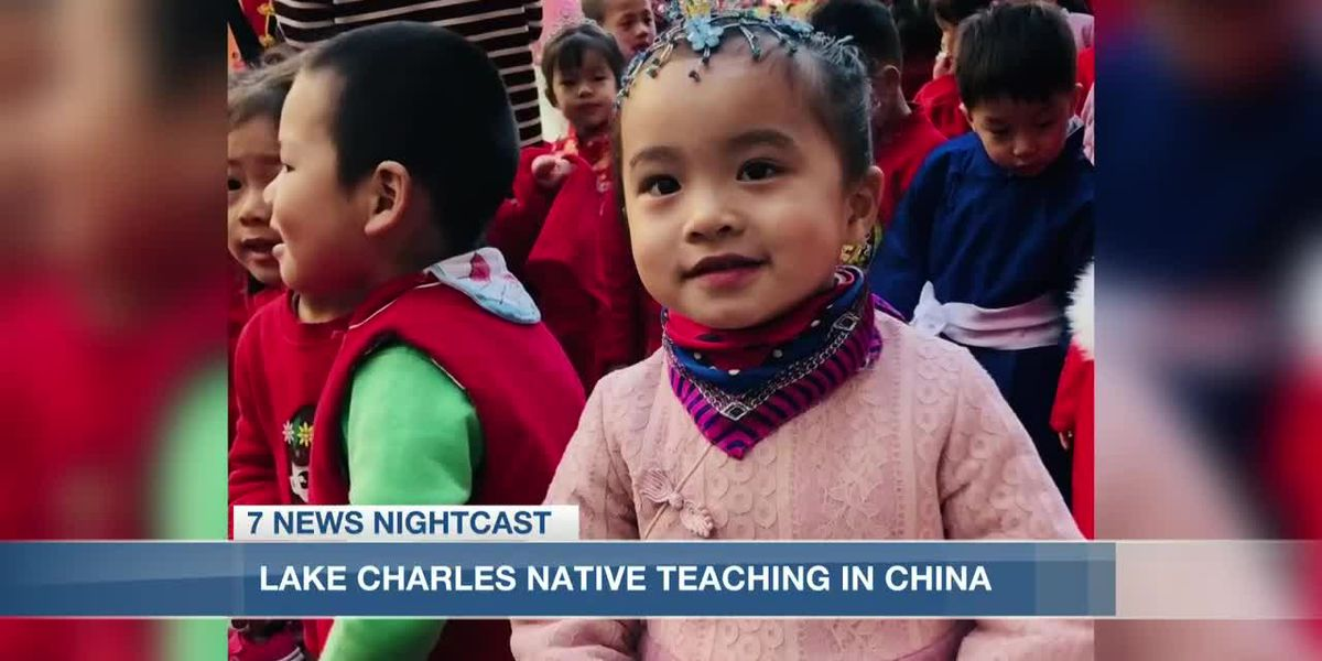 Lake Charles native teaches in China amid COVID-19