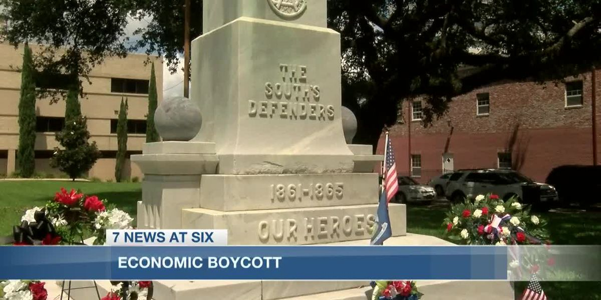 Protesters against Calcasieu's monument decision launch economic boycott