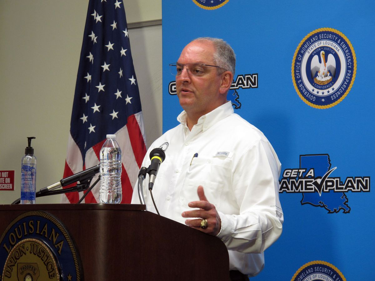 Gov. Edwards urges residents to monitor Tropical Storm Zeta