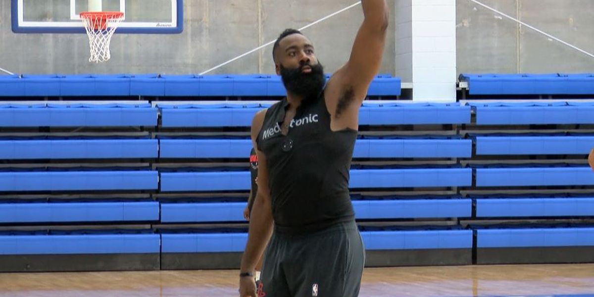 Houston Rockets open training camp at McNeese
