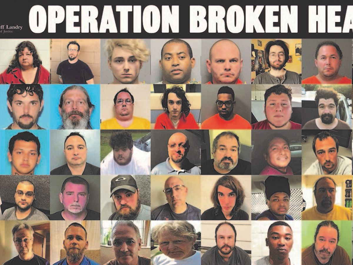 8 SWLA residents among the 63 arrested statewide in Operation Broken Heart