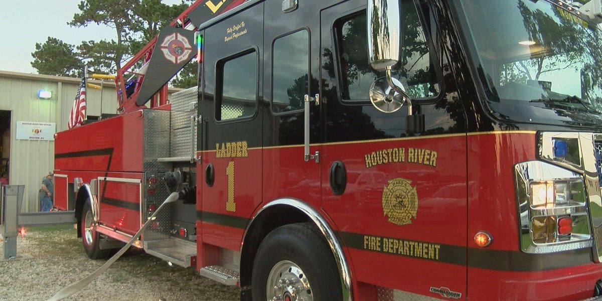 Houston River Fire Department gets new fire truck