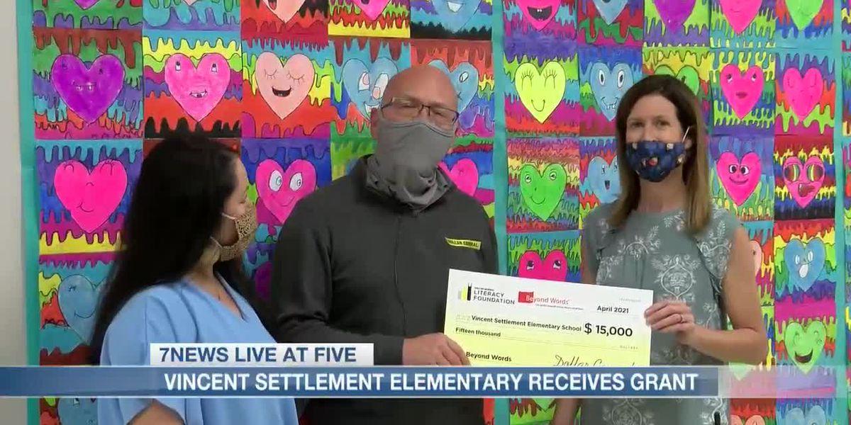 Vincent Settlement Elementary recibe una subvención de $ 15,000