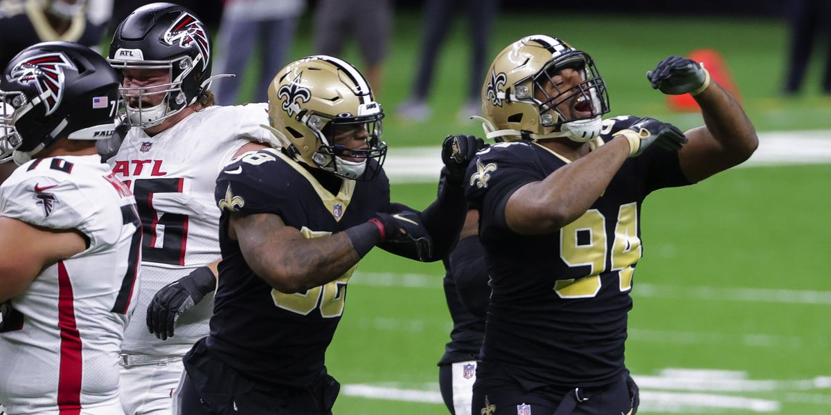 Saints looking for series sweep of the Falcons
