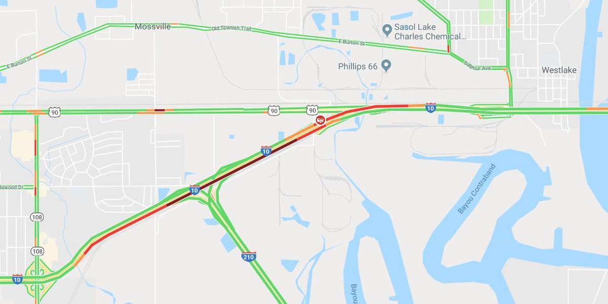 TRAFFIC: Accident causing congestion on I-10 EB near PPG Drive