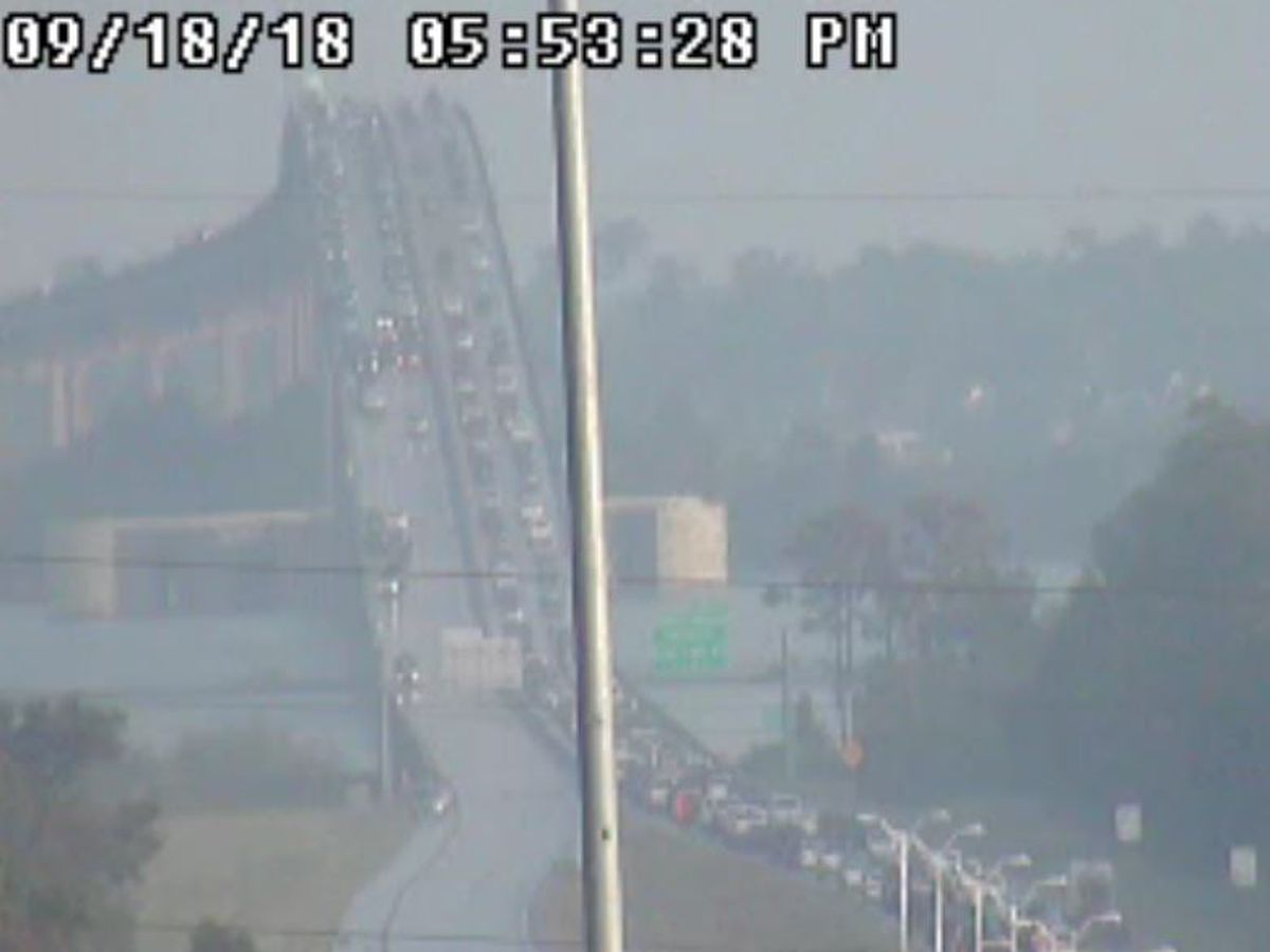 TRAFFIC: Accident in WB lanes of 210 bridge causing backup in both directions