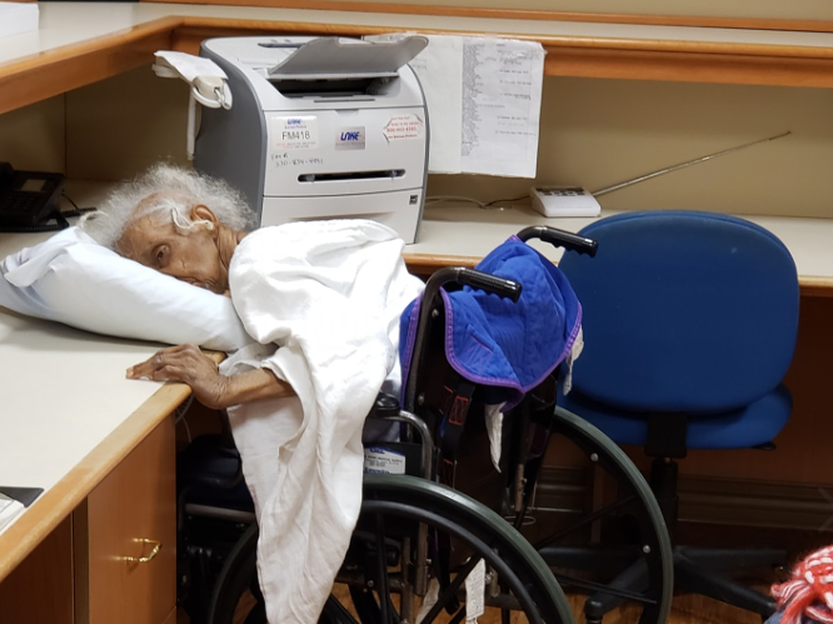'We were very frightened': Family reacts after walking in on 80-year-old relative slumped over in Canton, OH nursing home