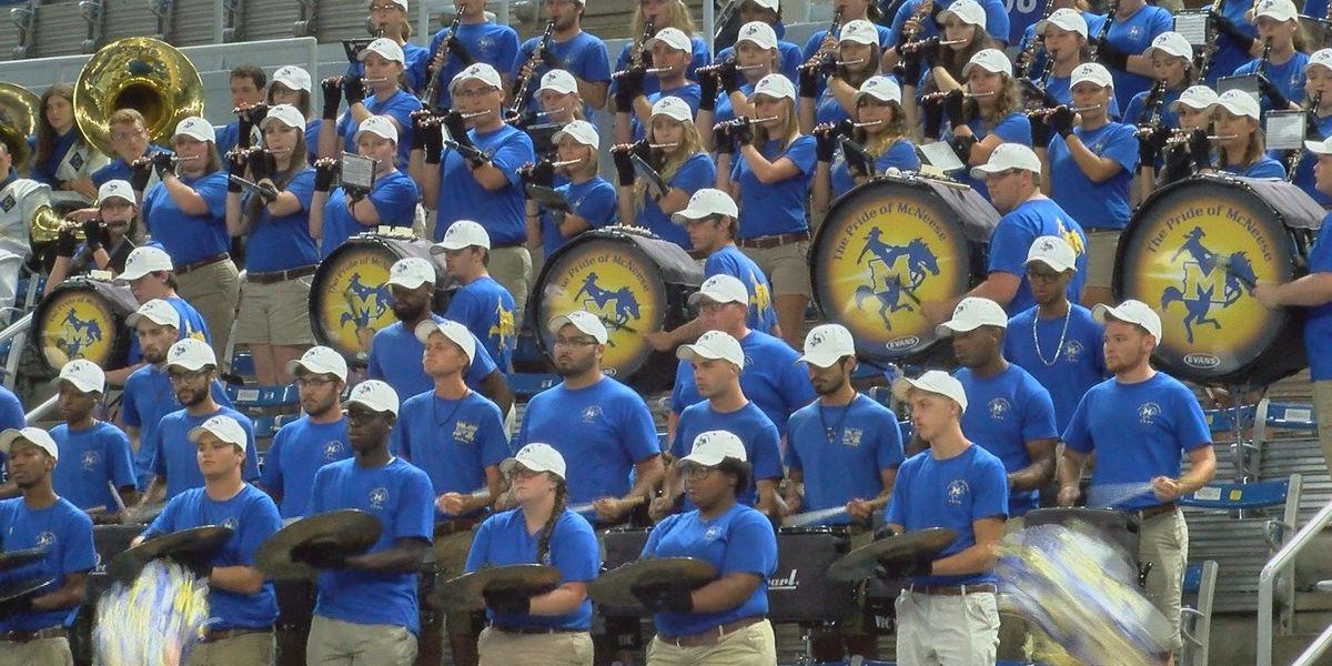 Pride of McNeese Band hosts 'Cowboy Kickoff'