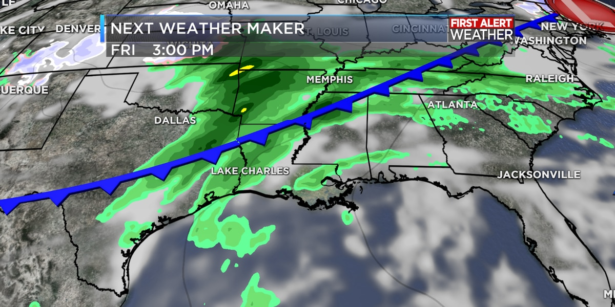 FIRST ALERT FORECAST: Warmer days ahead this week; eventually some rain as well