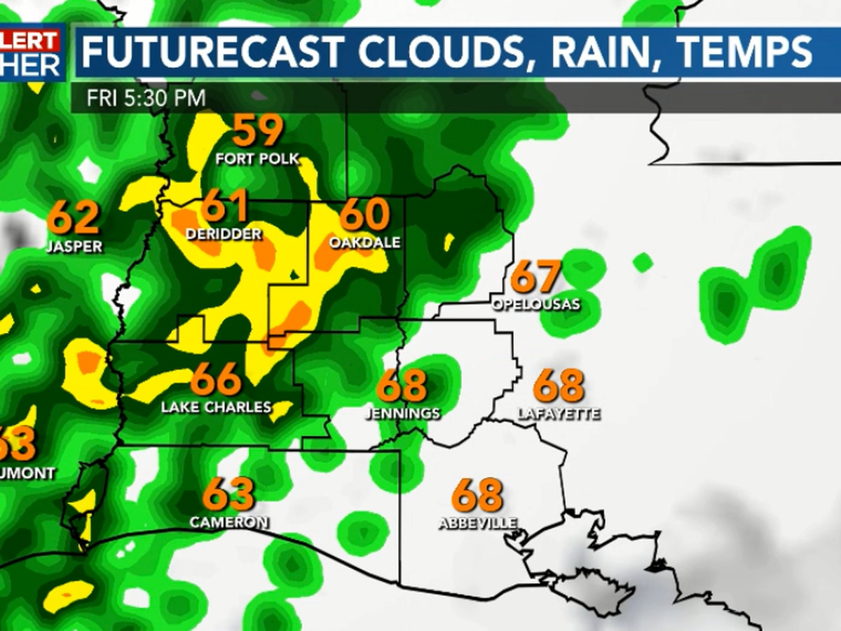 FIRST ALERT FORECAST: Another wonderful evening but still on track for rain by Friday afternoon/evening