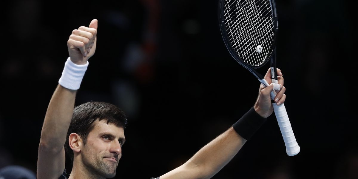 Djokovic, Nadal, Federer close 2018 ranked 1-2-3