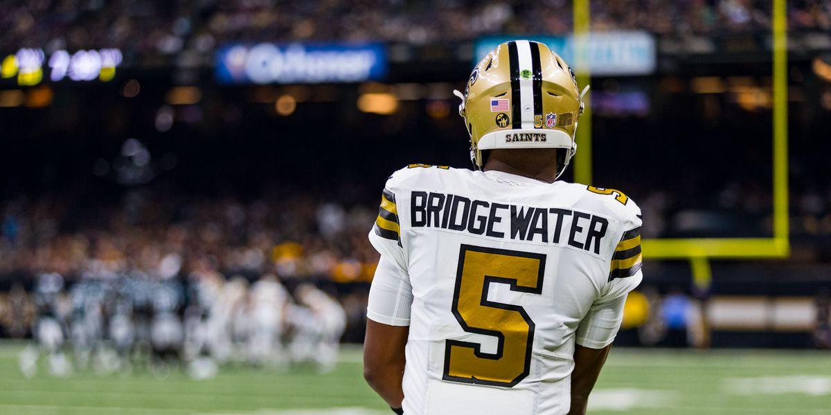 Saints will start QB Teddy Bridgewater on Sunday