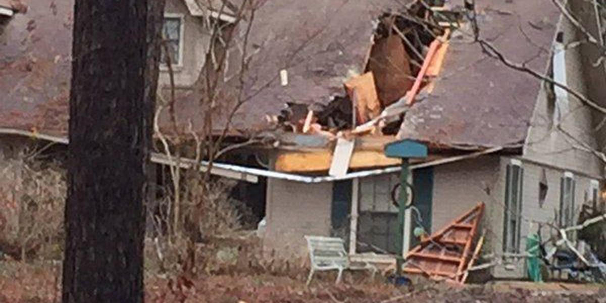 EF-1 tornado damages home in Vernon Parish early Wednesday