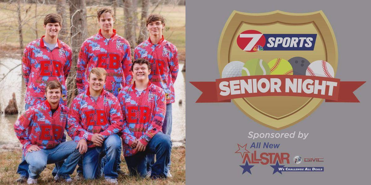 SENIOR NIGHT: East Beauregard fishing team senior class