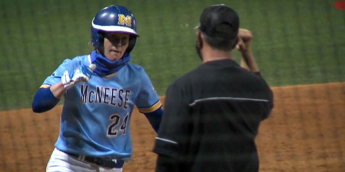 McNeese forces extras but No. 9 Cajuns get walk off win, 8-7