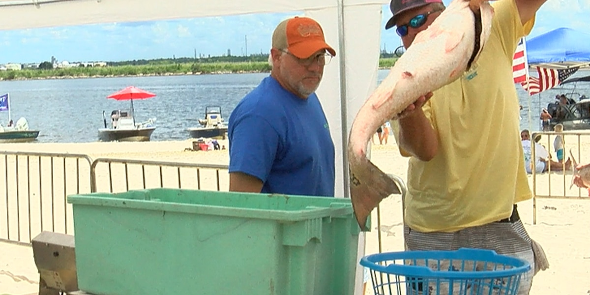 Around 200 participate in 5th Annual Salty Catch Fishing Rodeo
